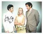 Annette Andre & Kenneth Cope  -  Photograph. This is an original autograph and not a copy. 10218
